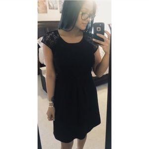 Lauren Conrad Lace Cap Sleeve Dress
